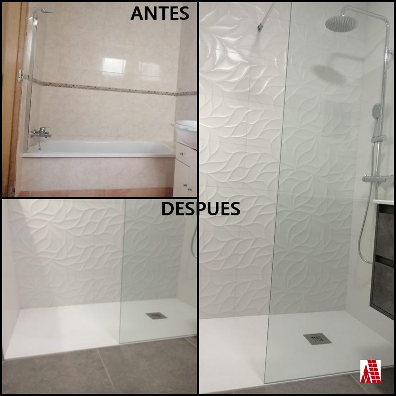 Detalle de ANTES Y DESPUÉS