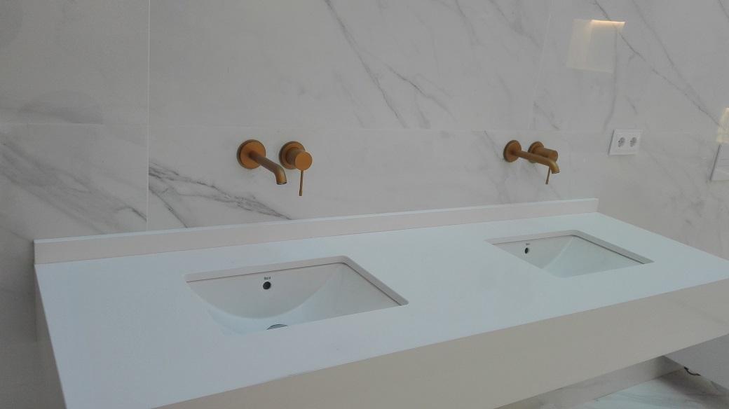 Cuarto de baño de diseño espectacular | Reformas Integrales Aniorte