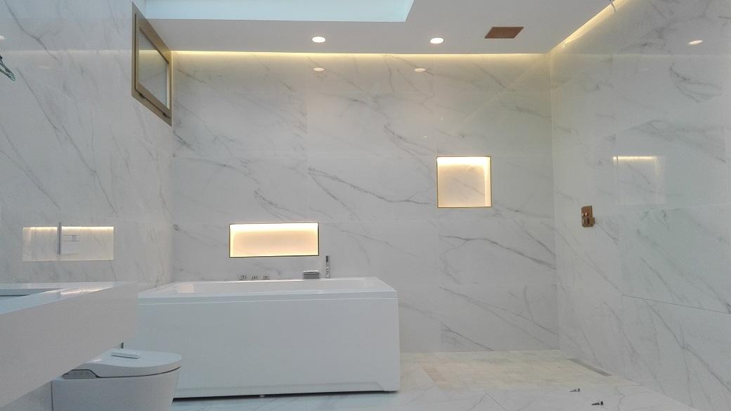 Cuarto de baño de diseño espectacular