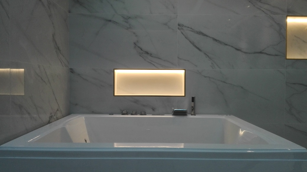 Detalle de Cuarto de baño de diseño espectacular