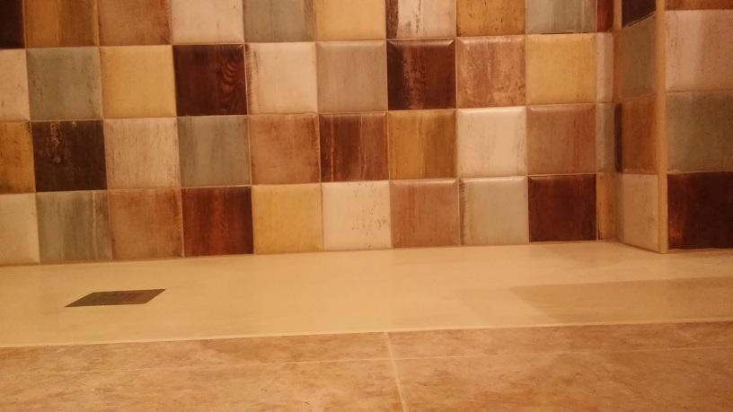 Detalle de Cuarto de baño rústico
