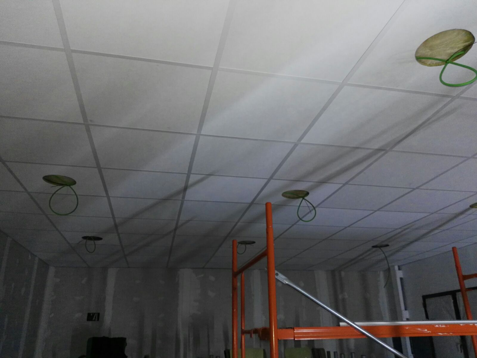 Detalle de Instalación de pladur e insonorización
