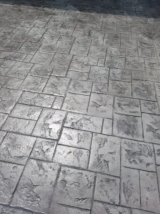 Detalle de Pavimento impreso
