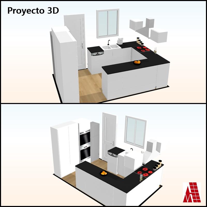 Planos en proyecto 2D y 3D